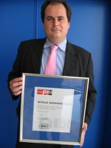 Entrega marca EIBT a Netblue Ingenieros